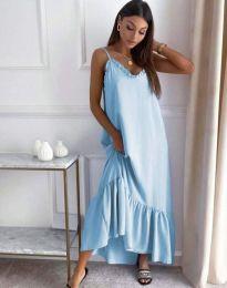 Šaty - kód 4671 - svetlo modrá