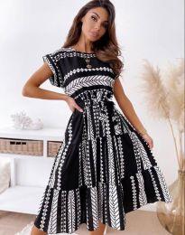 Šaty - kód 2660 - čierná