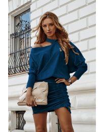 Šaty - kód 8987 - tyrkysová