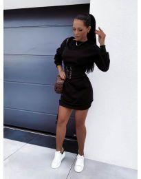 Šaty - kód 165 - čierná