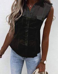 Košeľa - kód 0158 - 2 - čierná