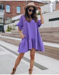 Šaty - kód 748 - fialová