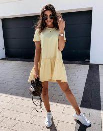 Šaty - kód 11890 - žltá