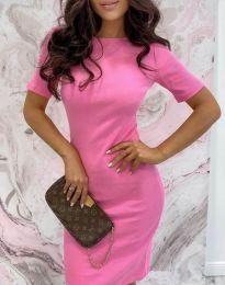 Šaty - kód 44477 - ružová