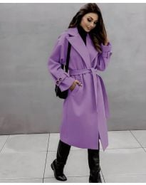 Kabát - kód 410 - fialová
