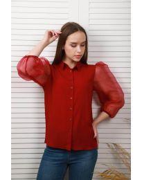 Košeľa - kód 0633 - 1 - bordeaux