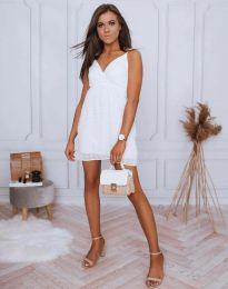 Šaty - kód 0890 - 2 - biela