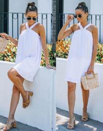 Šaty - kód 9103 - biela