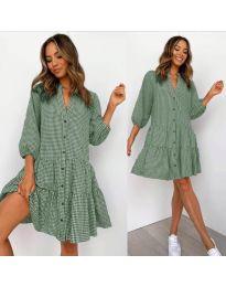 Šaty - kód 965 - zelená