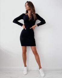 Šaty - kód 1610 - čierná