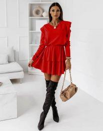 Šaty - kód 12042 - červená