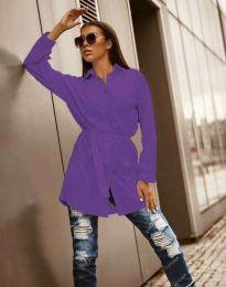 Košeľa - kód 6739 - fialová