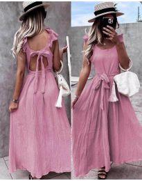 Šaty - kód 4806 - pudrová