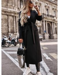 Kabát - kód 7989 - čierná