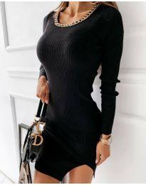 Šaty - kód 4545 - čierná