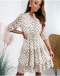 Šaty - kód 8877 - 4 - viacfarebné