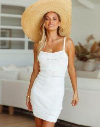Šaty - kód 10099 - biela