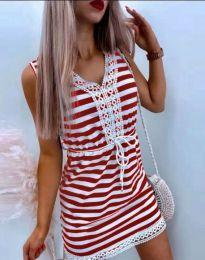 Šaty - kód 20100 - červená
