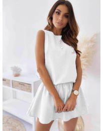 Šaty - kód 477 - biela