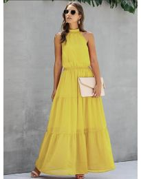 Šaty - kód 8855 - žltá