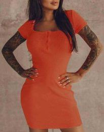 Šaty - kód 1842 - oranžová