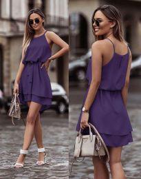 Šaty - kód 2104 - tmavofialová