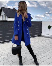 Kabát - kód 189 - modrá