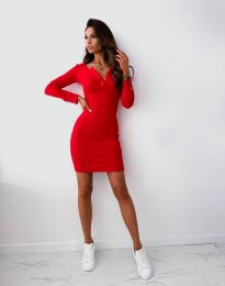 Šaty - kód 1610 - červená