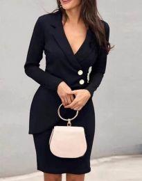 Šaty - kód 2431 - čierná
