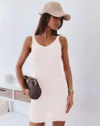 Šaty - kód 10088 - biela
