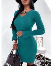 Šaty - kód 5666 - tyrkysová