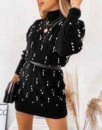 Šaty - kód 3904 - čierná