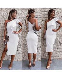 Šaty - kód 745 - biela