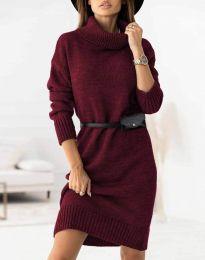 Šaty - kód 0393 - bordeaux