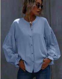 Košeľa - kód 1648 - 3 - svetlo modrá