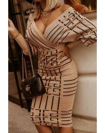 Šaty - kód 4441 -3 - viacfarebné