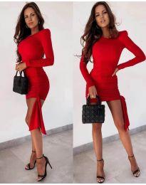Šaty - kód 6515 - červená