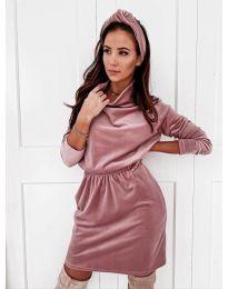 Šaty - kód 1714 - ružová
