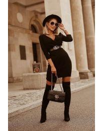 Šaty - kód 9977 - čierná