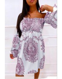 Šaty - kód 757 - fialová