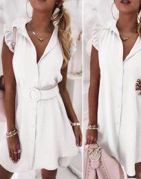 Šaty - kód 7411 - biela