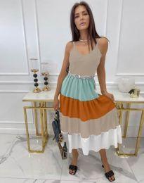 Šaty - kód 3392 - viacfarebné