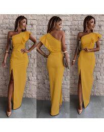 Šaty - kód 745 - hořčičná
