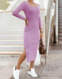 Šaty - kód 2326 - svetlo fialová