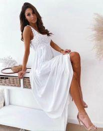 Šaty - kód 4807 - biela