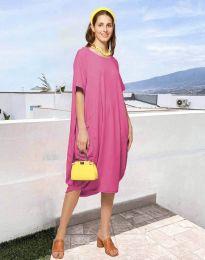 Šaty - kód 5554 - ružová