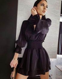 Šaty - kód 6609 - 1 - čierná