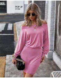 Šaty - kód 4447 - ružová