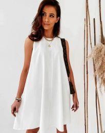 Šaty - kód 9862 - biela