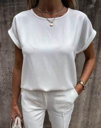 Tričko - kód 11802 - biela